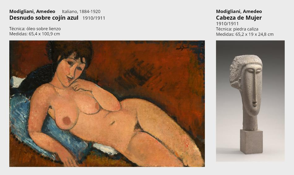 12 modigliani desnudo y escultura