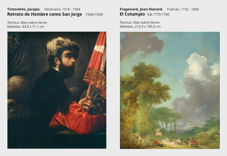 5 tintoretto--retrato de hombre con san jorge-----fragonard---el columpio