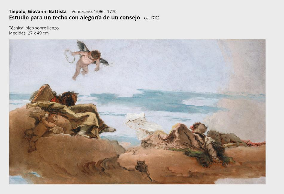 8 tiepolo giovanni battista---estudio para un techo