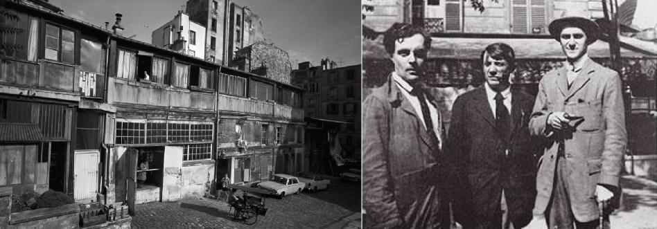 Bateau-Lavoir_Kahnweiler-Picasso-and-Modigliani