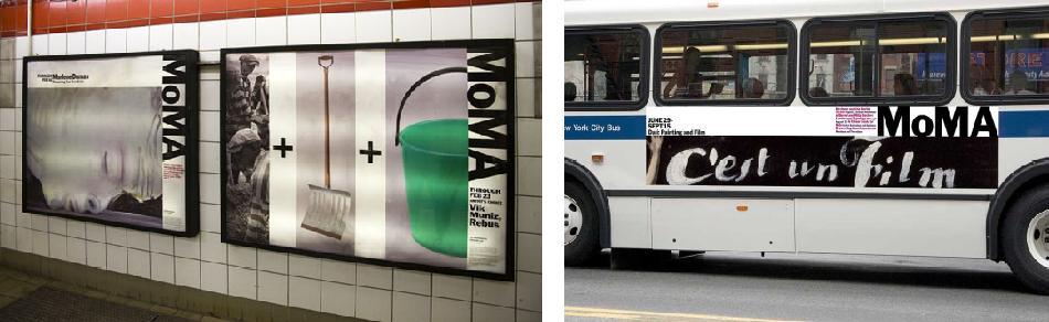 MoMA metro y autobus