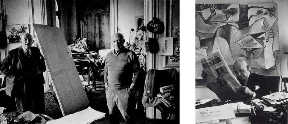 Picasso con Kahnweiler