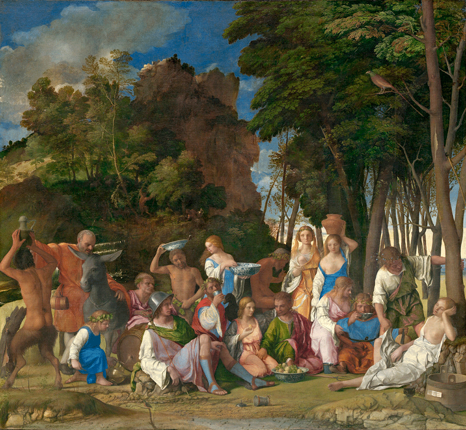 Bellini, Giovanni_Titian_The Feast of the Gods_widener-joseph-early-collection_national-gallery-of-art_washington-dc