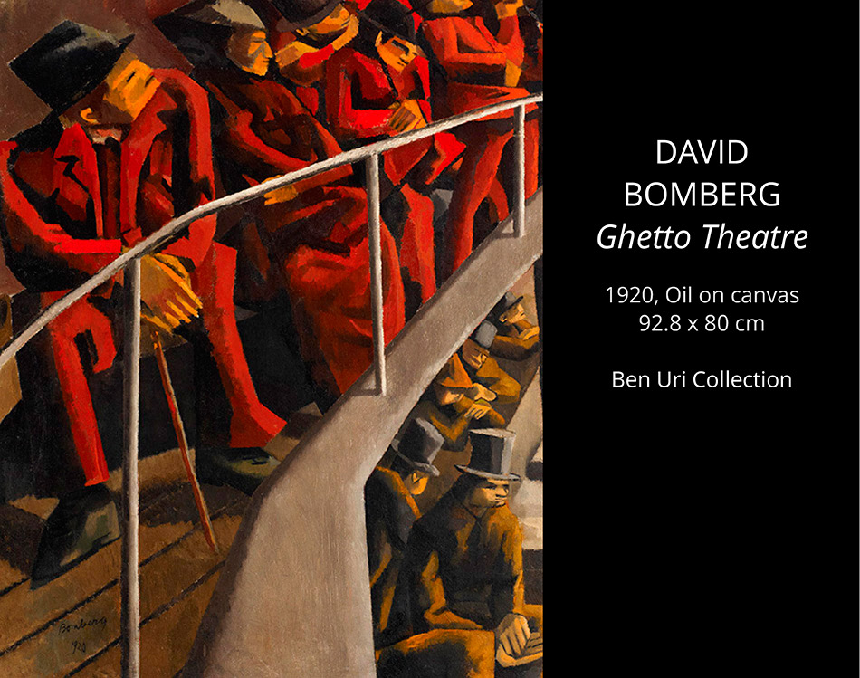 David-BOMBERG-Ghetto-Theatre