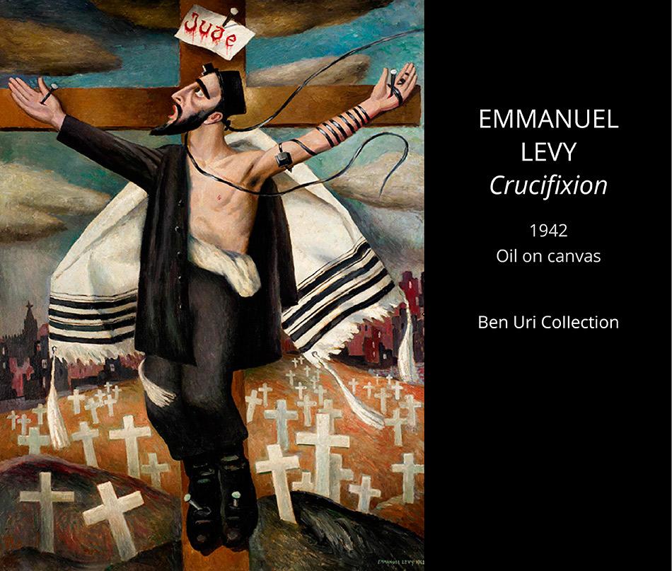 Emmanuel-LEVY-Crucifixion