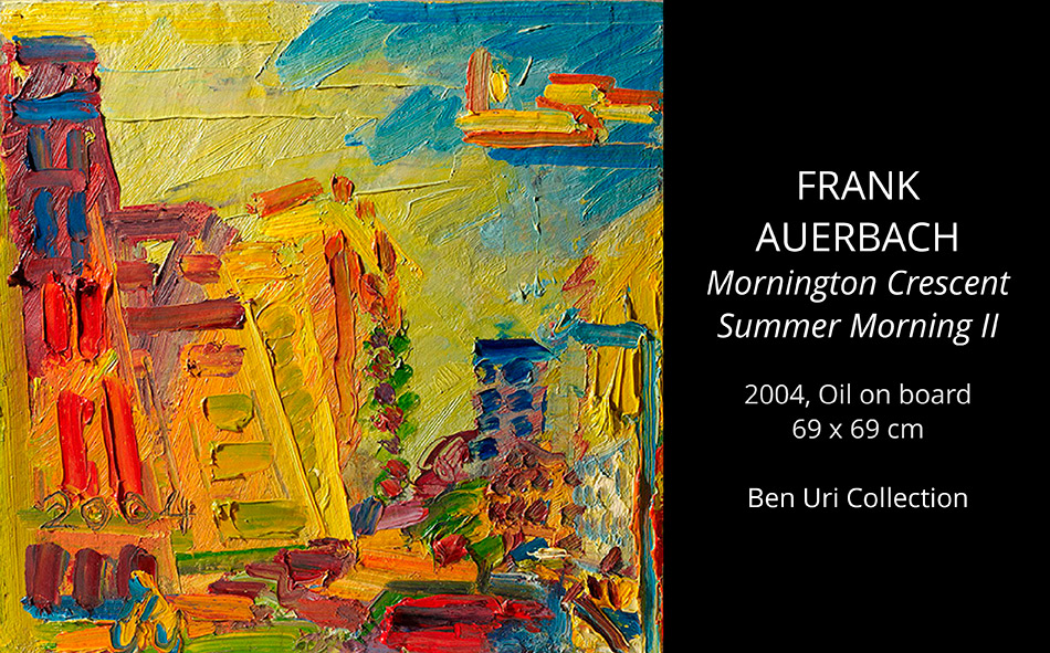 Frank-AUERBACH-Mornington-Crescent-Summer-Morning-II