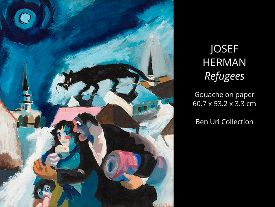 Josef-HERMAN-Refugees