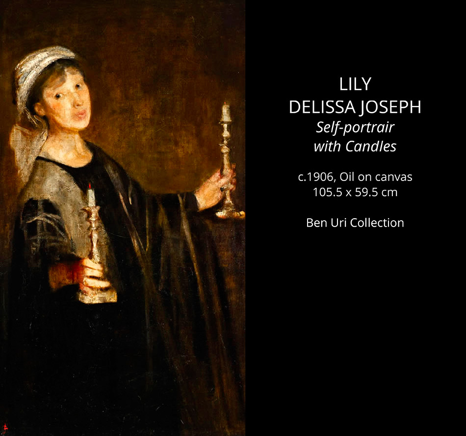 Lily-DELISSA-Joseph-Seld-portrait-with-candles