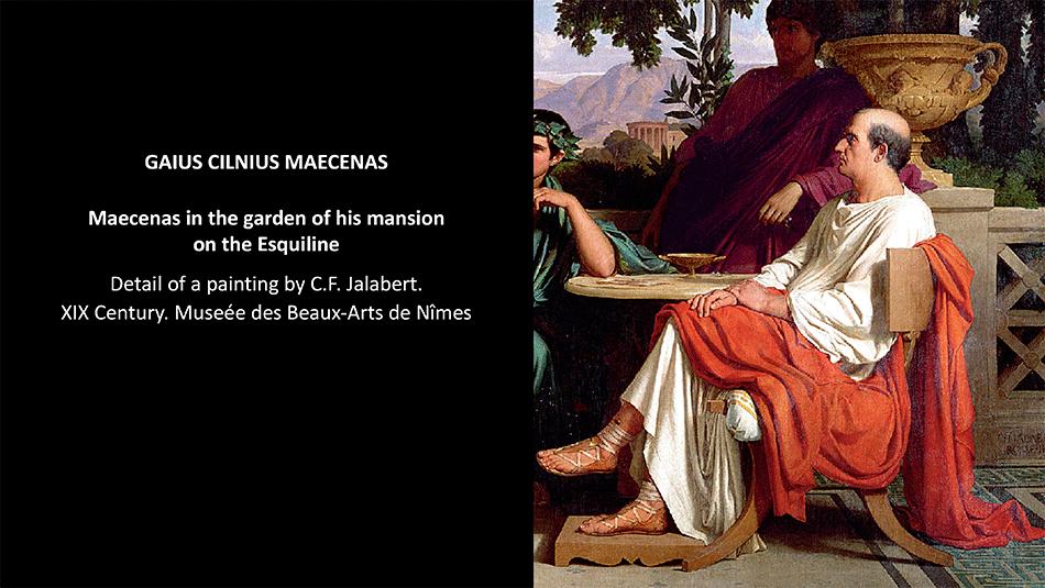 gaius-cilnius-maecenas_painting-by-c-f-jalabert_musee-des-beaux-arts-de-nimes_about-patrons