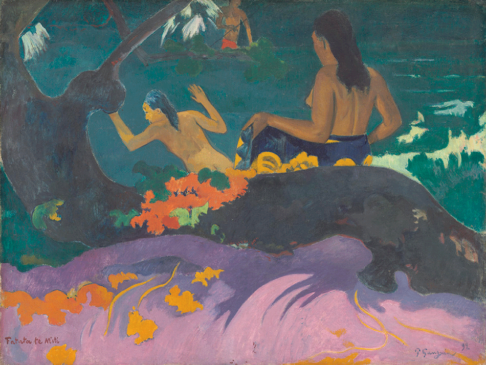 gauguin-paul_fatata-te-miti_dale-chester-collection-_national-gallery-of-art_washington-dc