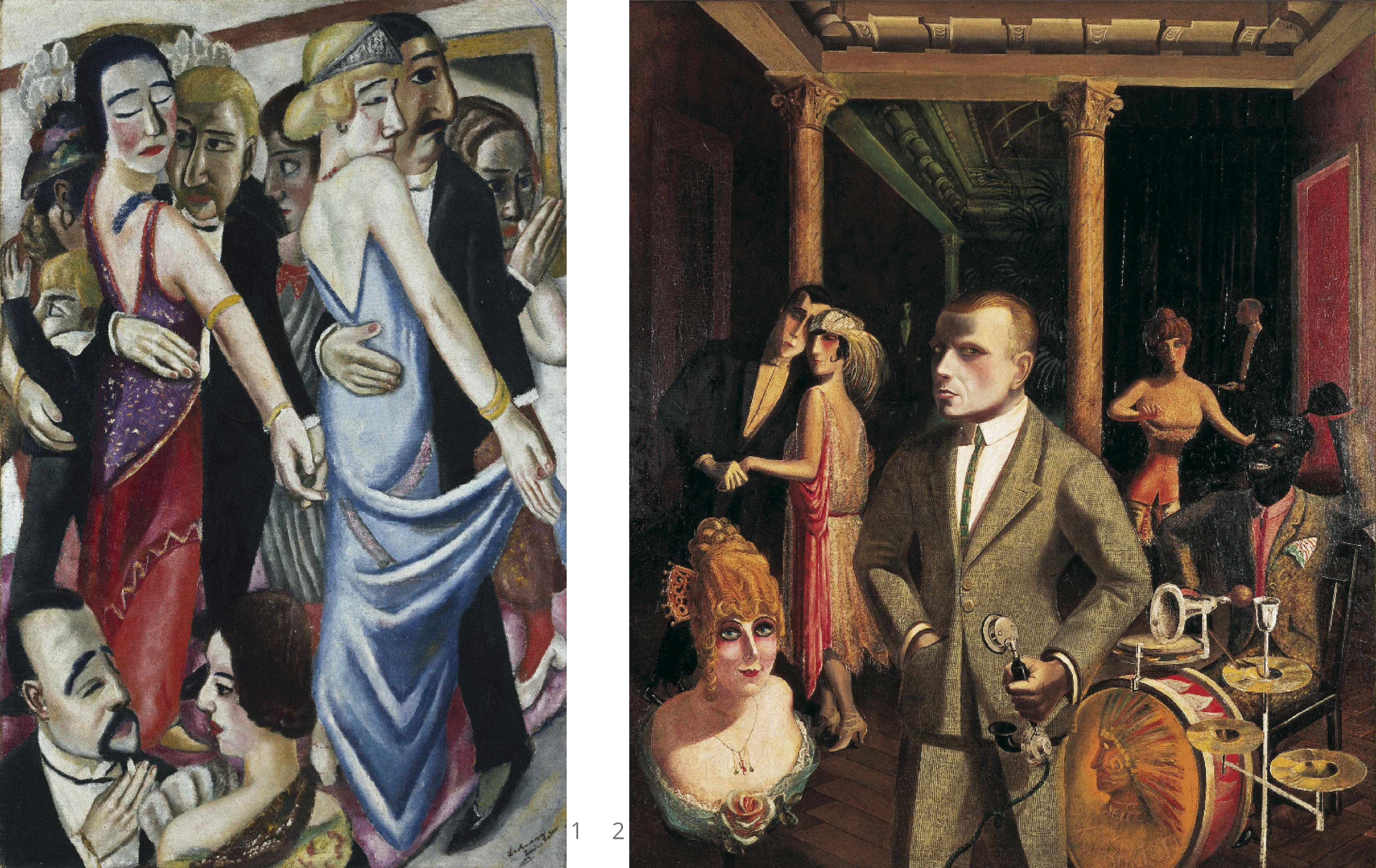 max beckmann dance in baden baden_otto dix to beauty