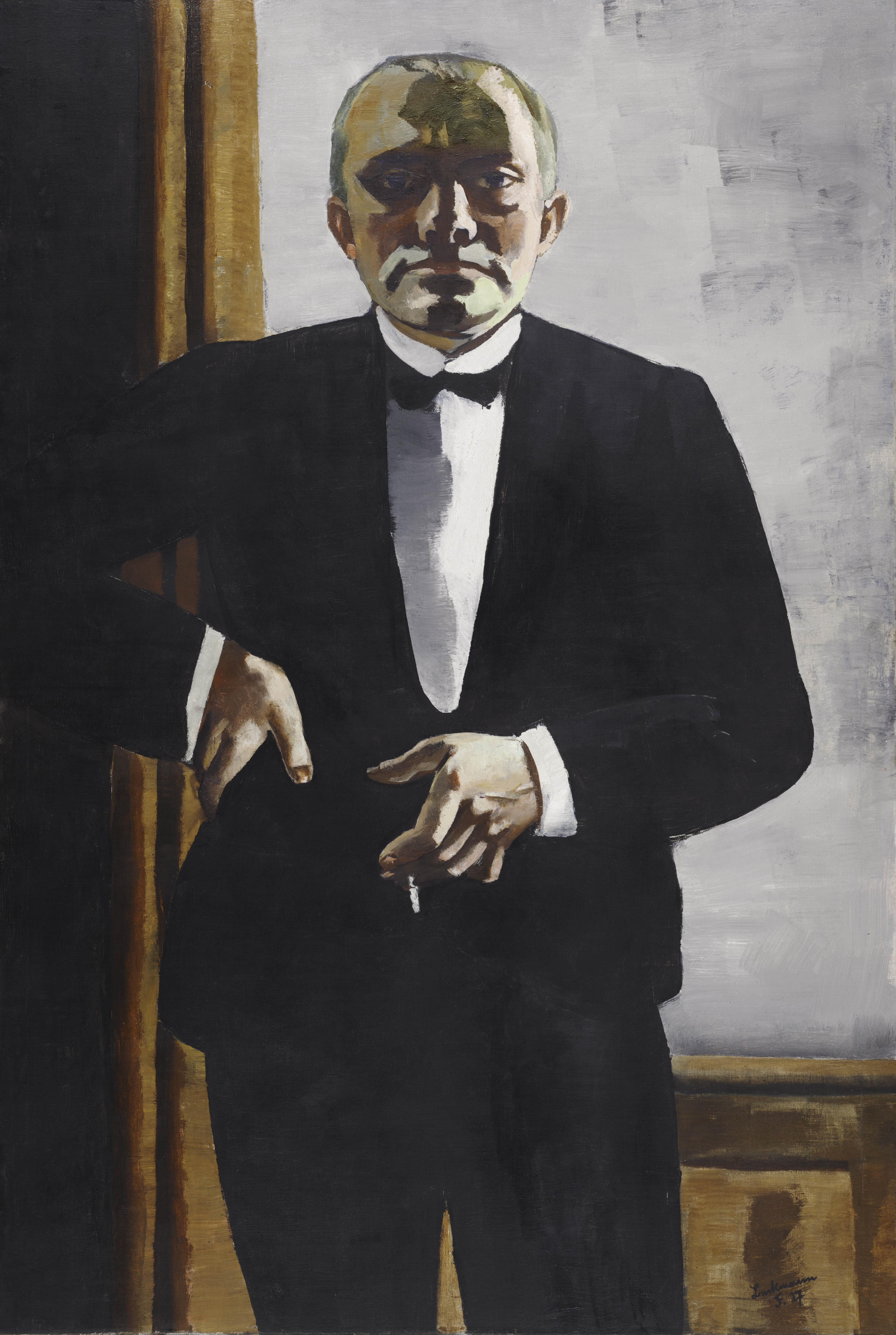 max beckmann self portrait