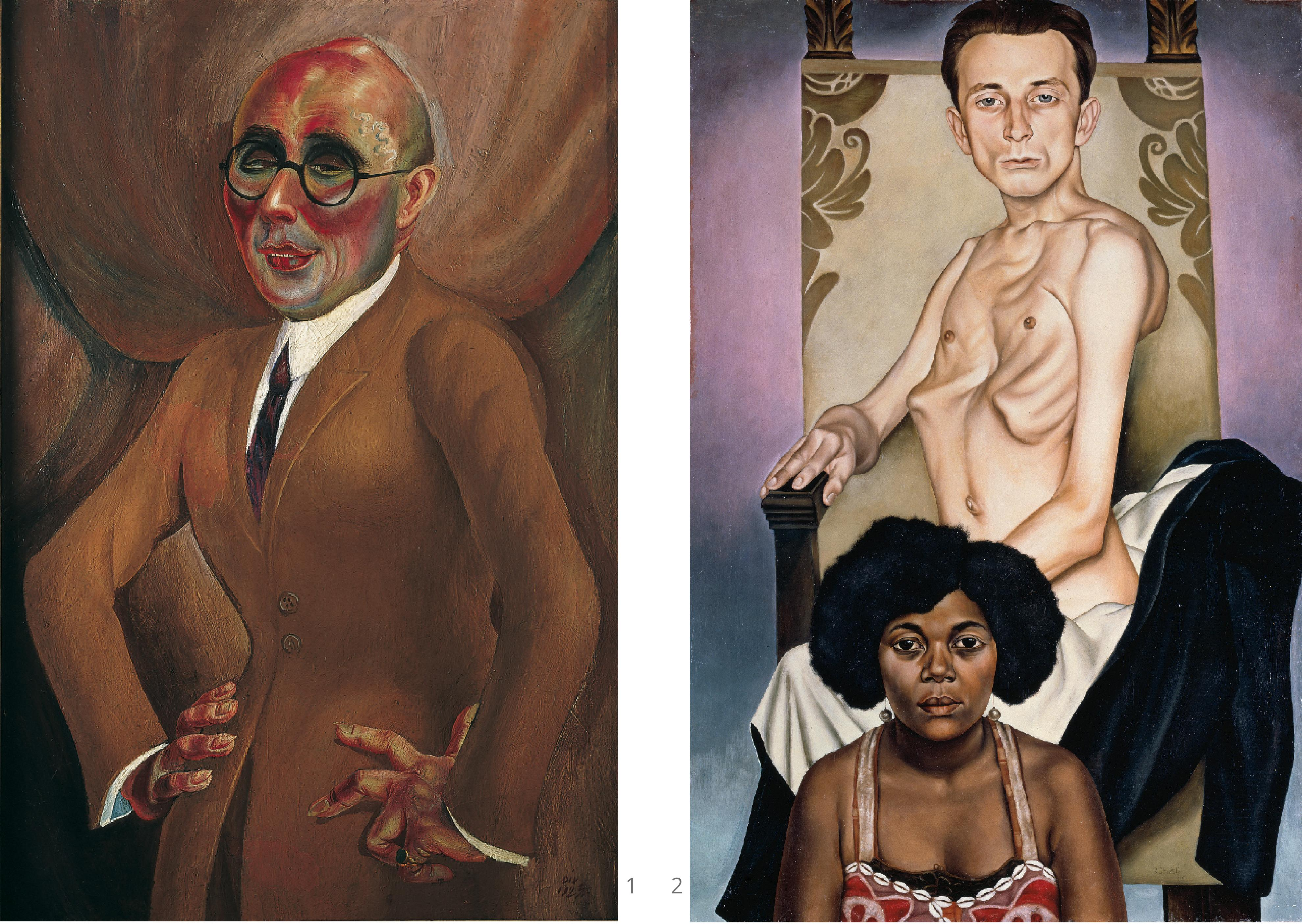 otto dix the jeweller karl krall_christian schad agosta the winged one and rasha the black dove