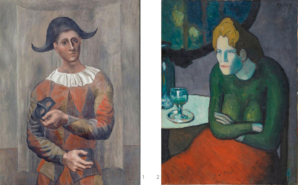 picasso-pablo_harlequin-with-black-mask_the-absinthe-drinker
