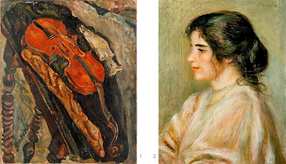 renoir-pierre-auguste_gabrielle__soutine-chaim_still-life-with-violin-bread-and-fish