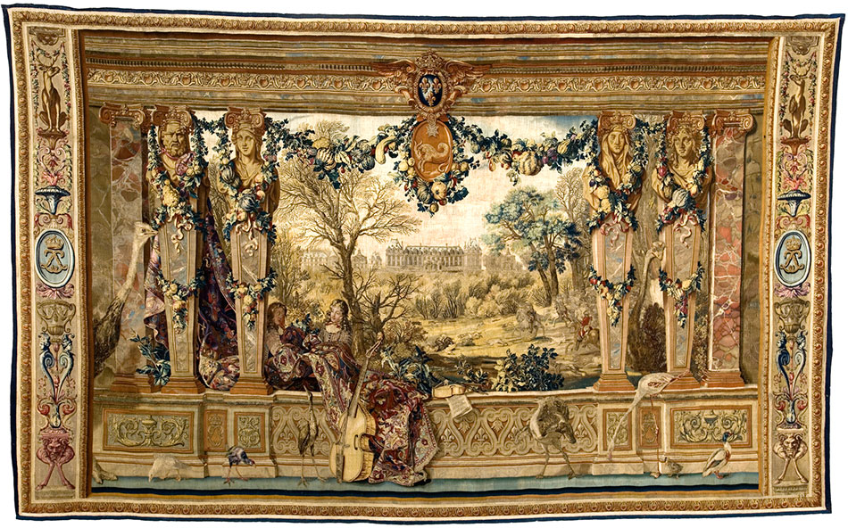 chateau-of-monceaux_monthof-december_woven-gold_tapestries-of-louis-xvi