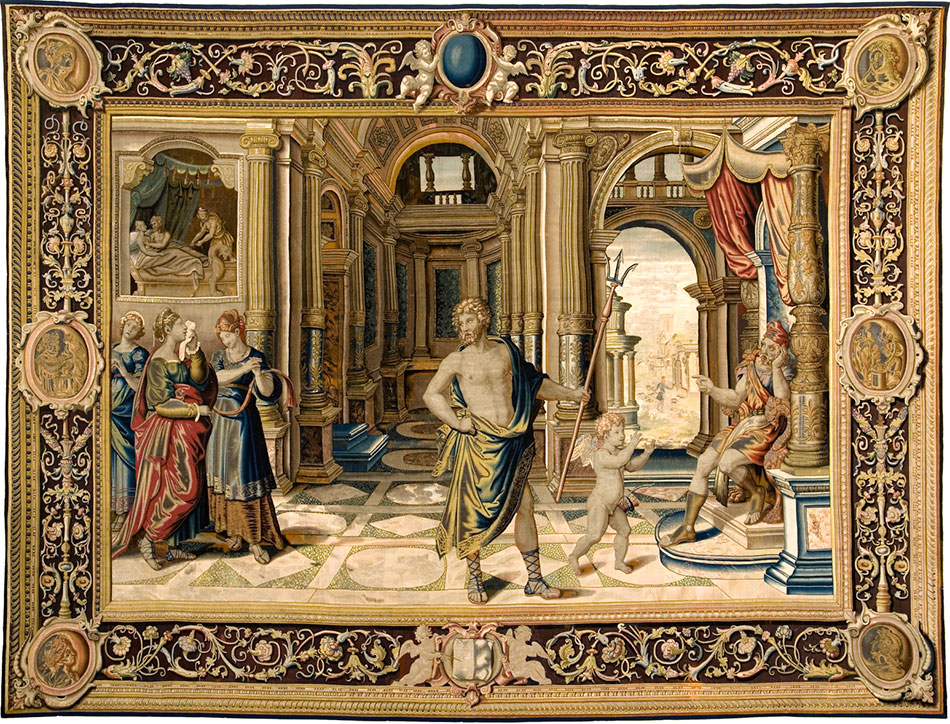 neptune-and-cupid-plead-with-vulcan-for-the-release-of-venus-and-mars_woven-gold_tapestries-of-louis-xvi
