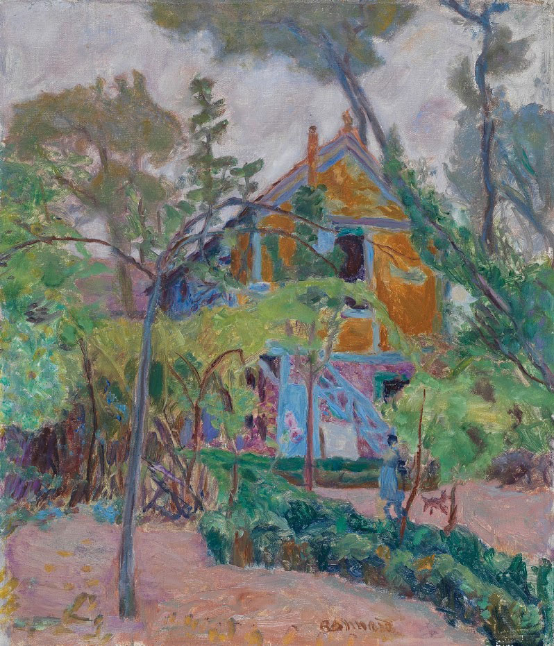 pierre-bonnard_house-amoung-the-trees