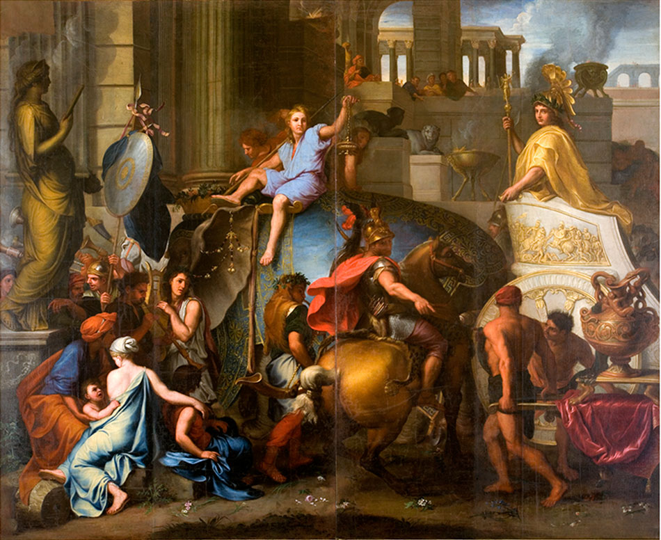 the-entry-of-alexander-into-babylon_design-by-charles-le-brun_woven-gold_tapestries-of-louis-xvi