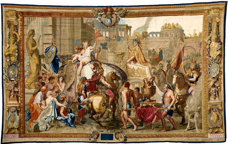 the-entry-of-alexander-into-babylon_woven-gold_tapestries-of-louis-xvi