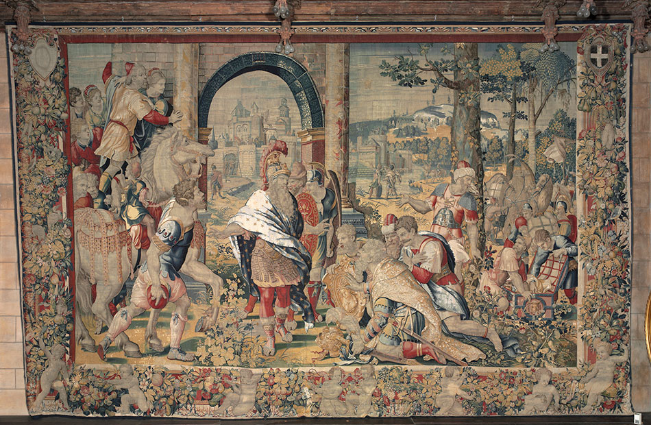 the-reception-of-the-envoys-from-carthage_woven-gold_tapestries-of-louis-xvi