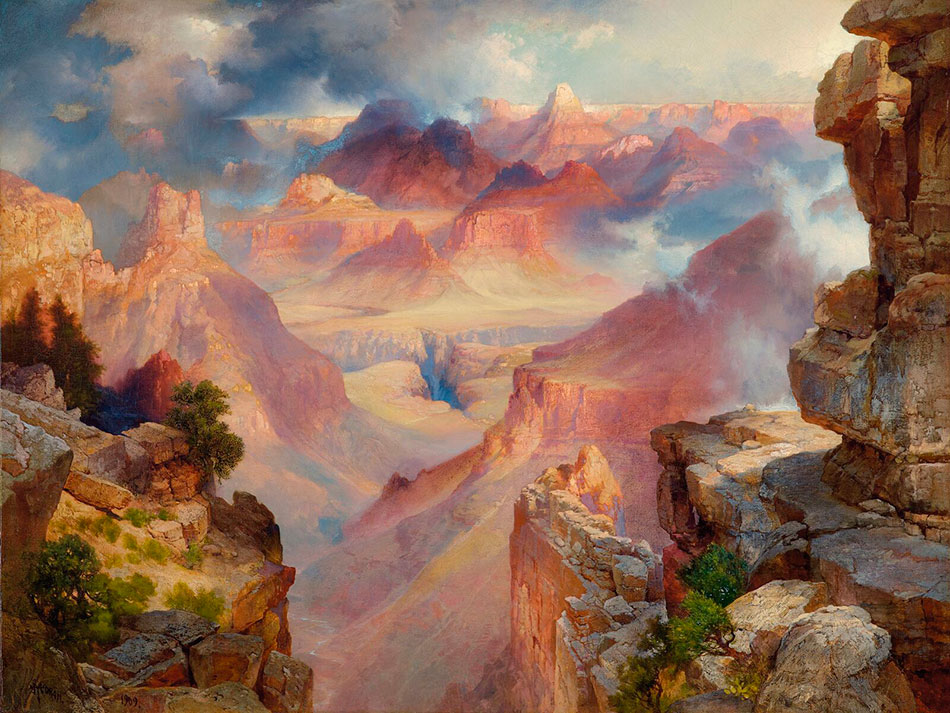 thomas-moran_grand-canyon-of-arizona-at-sunset