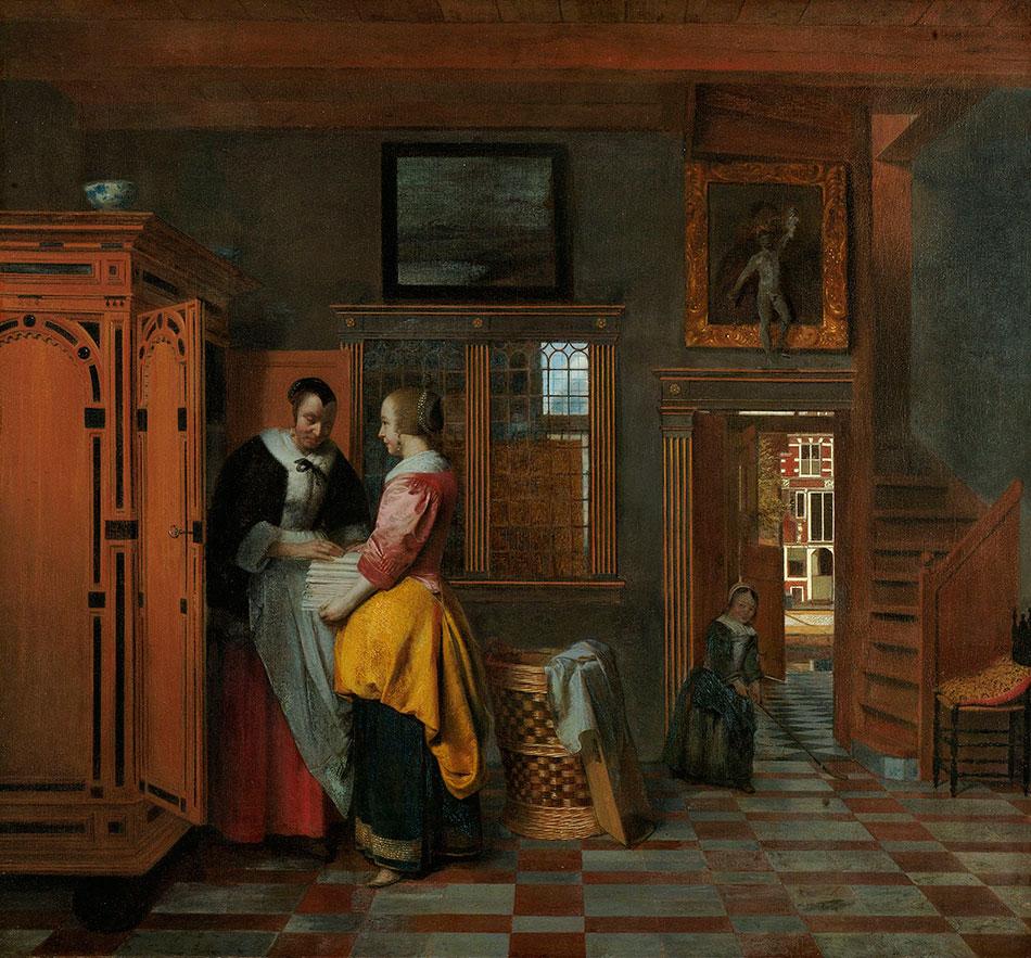 pieter-de-hooch_interior-with-women-beside-a-linen-cupboard