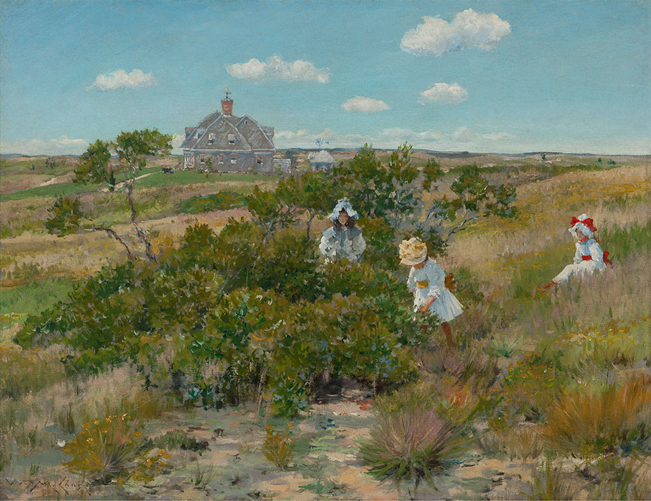 william-merritt-chase_the-big-bayberry-bush