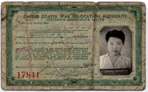 ruth asawa identification document