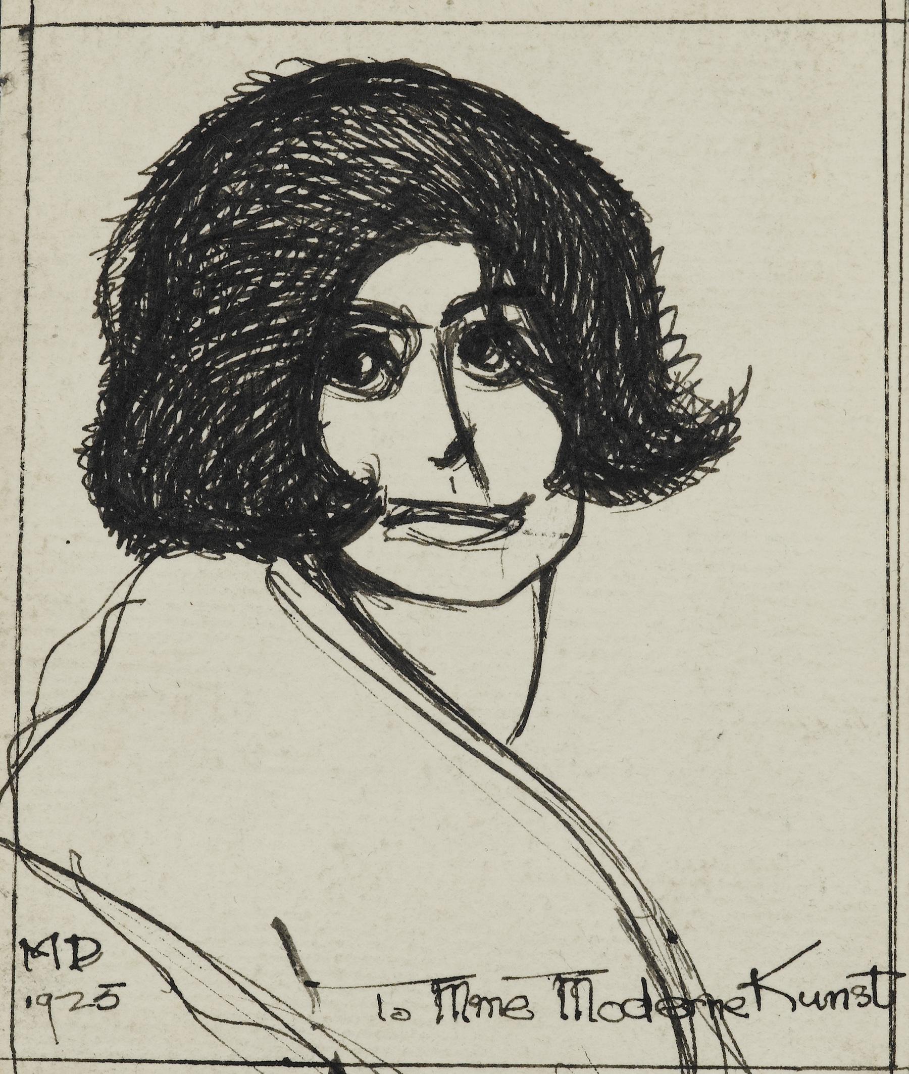 dixon_portrait of galka scheyer