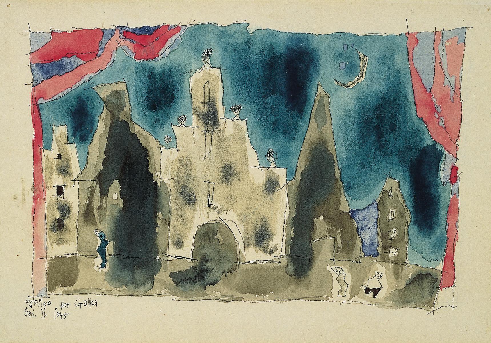 feininger_untitled 1945