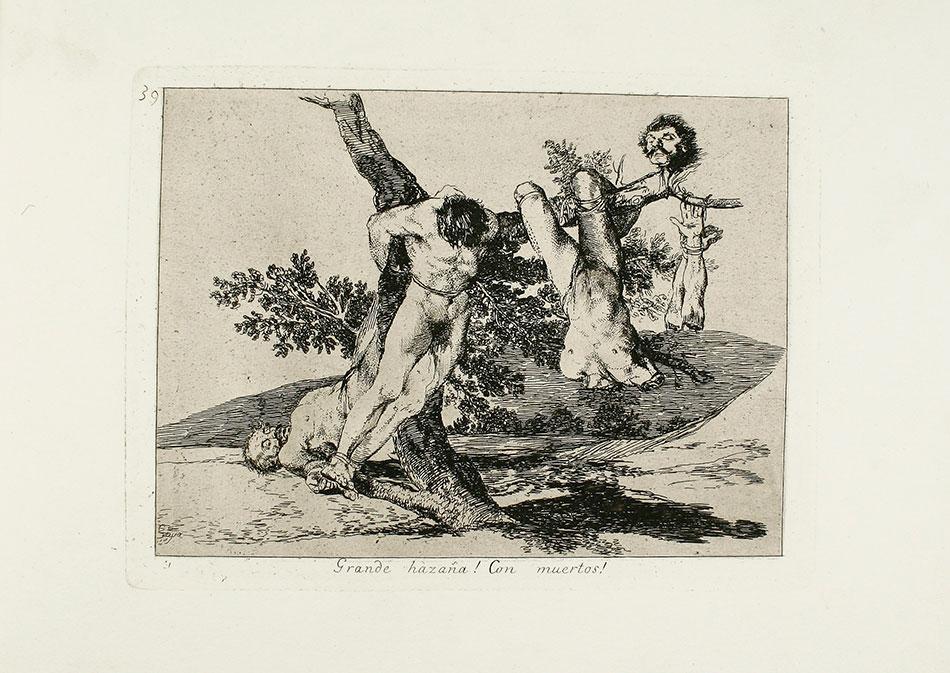 francisco de goya y lucintes - Grande hazaña con muertos-desastre, 39-biblioteca-inv-11777-039_r_museo-lazaro-galdiano-w