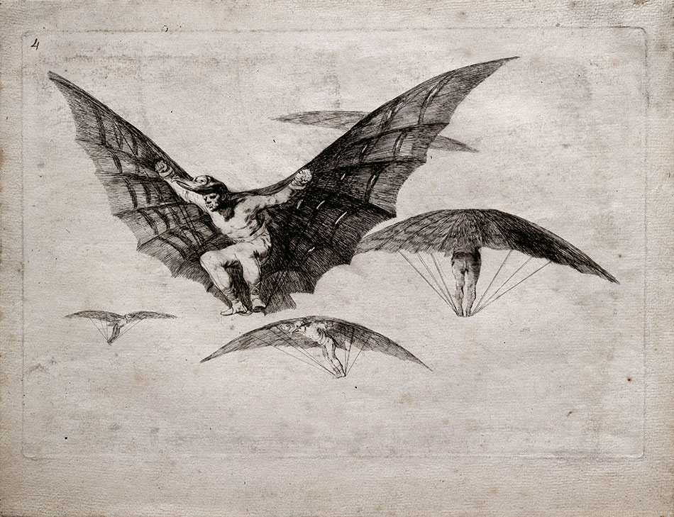 francisco de goya y lucientes modo de volar. museo-inv-11601_museo-lazaro-galdiano-w