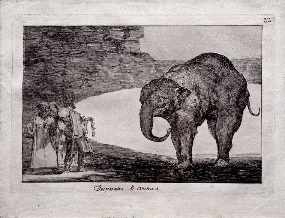 francisco de goya y lucientes disparate de bestia-museo-inv11590_museo-lazaro-galdiano-w