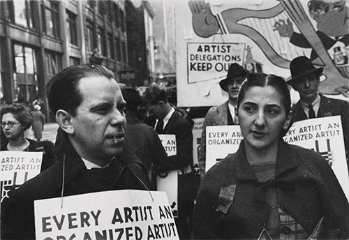staurt-davis-demostration-artists-union_w