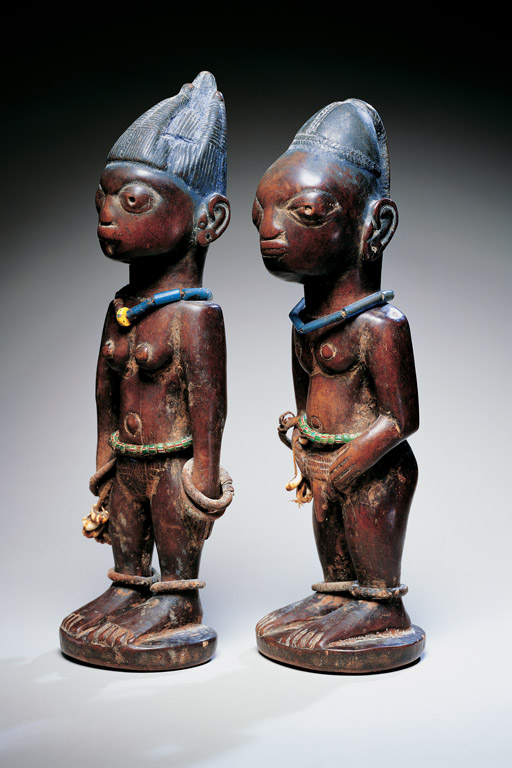 african arte_nigeria_yoruba female and male