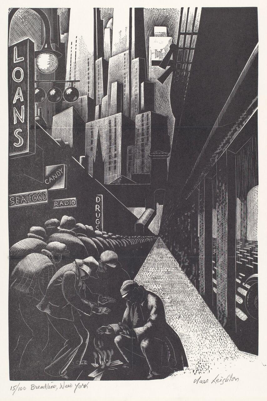 the urban scene 1920–1950_