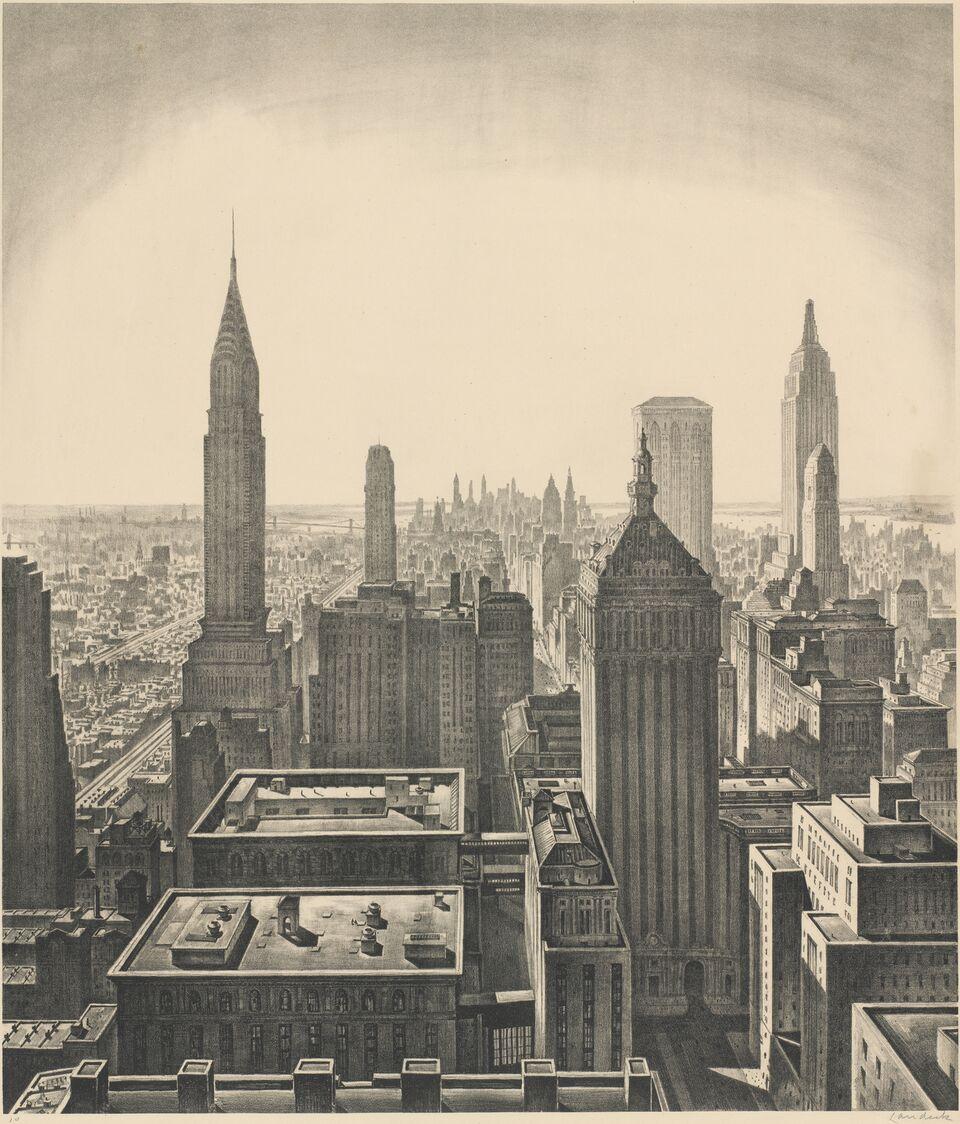 the urban scene 1920–1950_4842-019