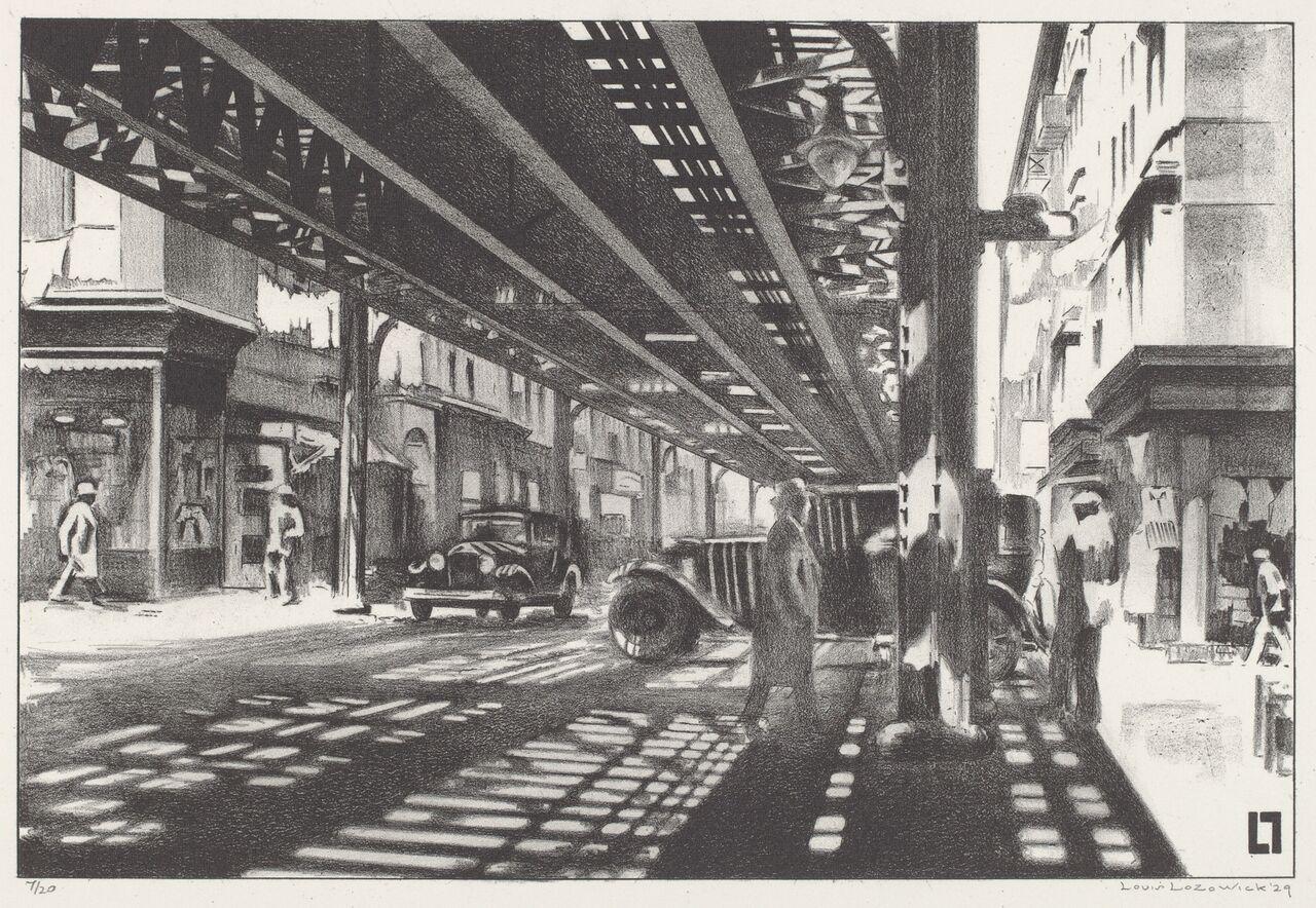 the urban scene 1920–1950_4842-022