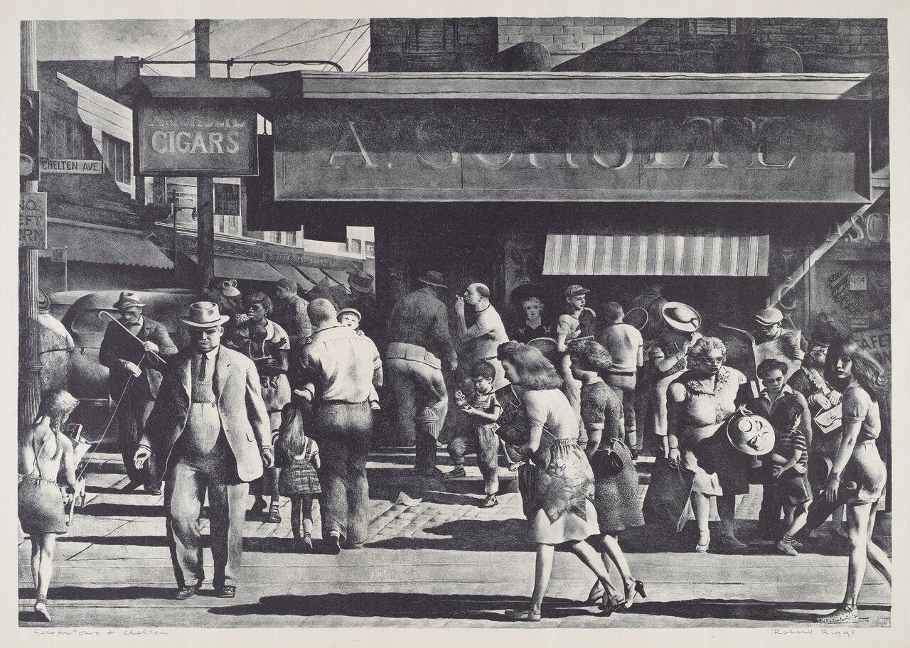 the urban scene 1920–1950_4842-036