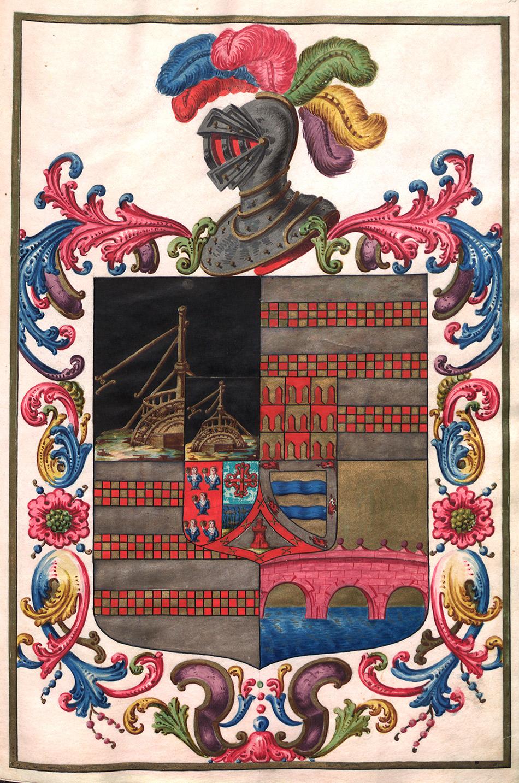 museo-lazaro-galdeano_certificacion-de-armas-de-pedro-de-hoya-y-saavedra