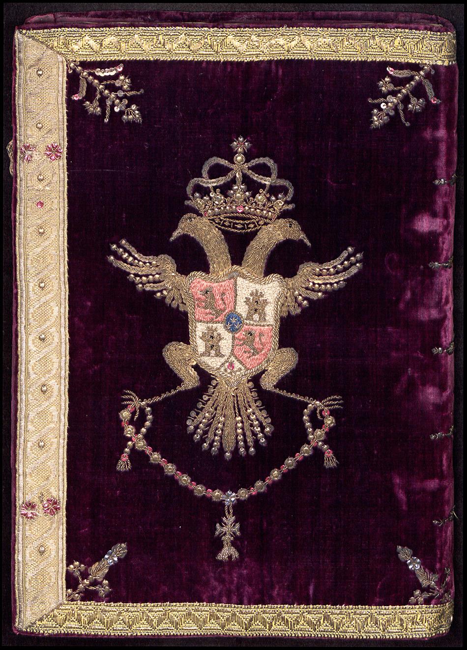museo-lazaro-galdeano_encuadernacion-heraldica_contiene-los-papeles-de-jose-fernandez-de-ayuso