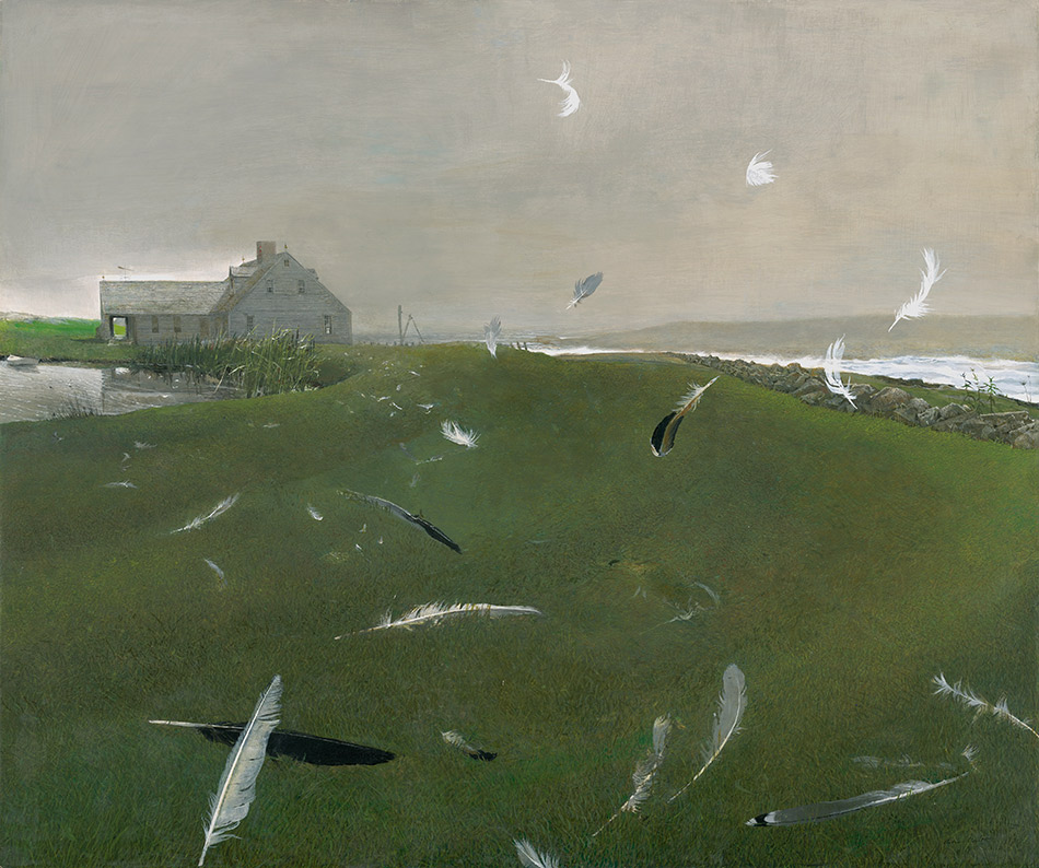 andrew-wyeth_Airborne,-1996_seattle-art-museum