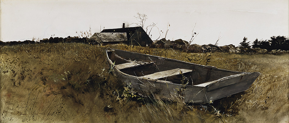 andrew-wyeth_Teel's-Island,-1954_seattle-art-museum