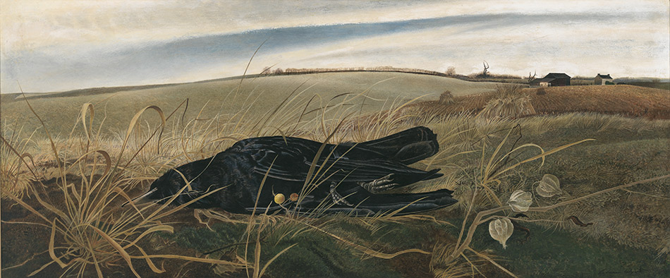 andrew-wyeth_Winter-Fields,-1942_seattle-art-museum