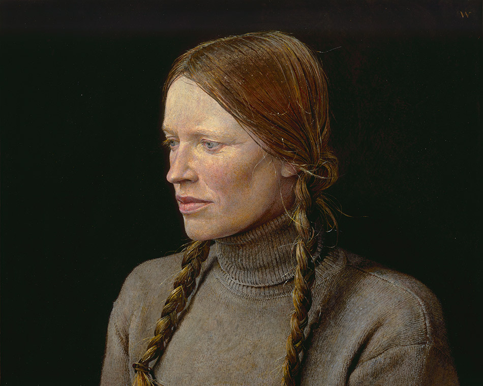 andrew-wyett_Braids,-1977_seattle-art-museum