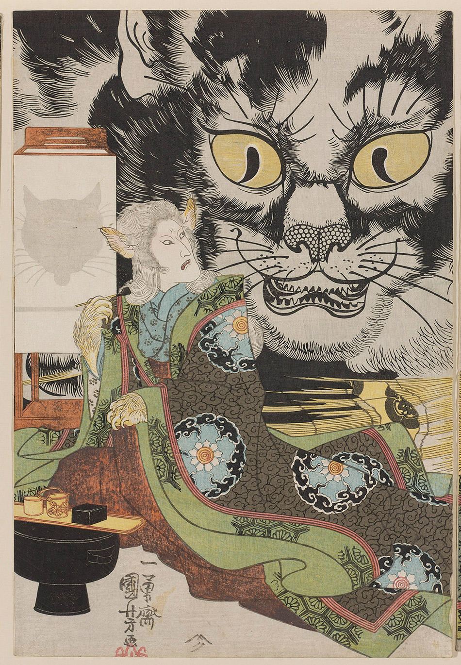 museum-of-fine-arts-boston_03-b_An-Imaginary-Scene-of-the-Origin-of-the-Cat-Stone-at-Okabe_Utagawa-Kuniyoshi_w