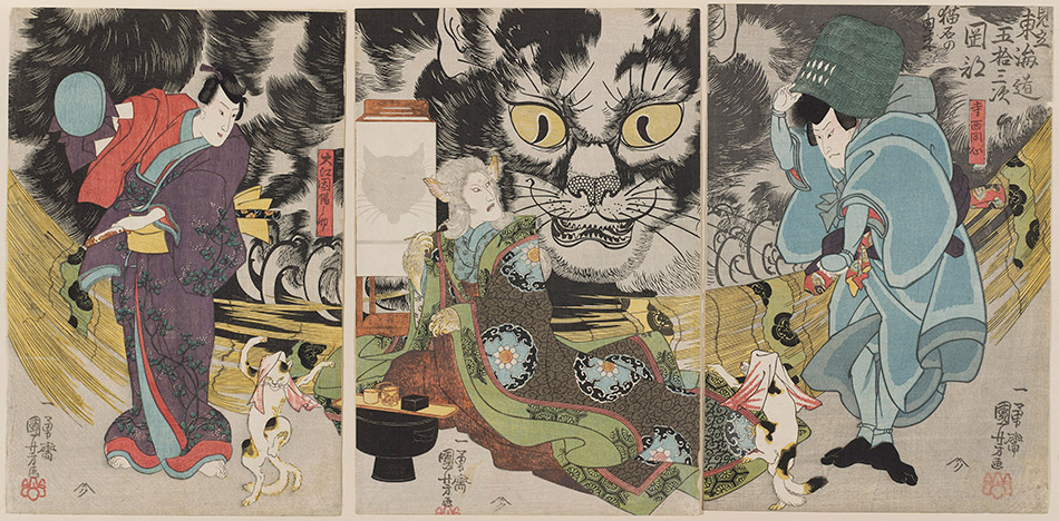 museum-of-fine-arts-boston_03.-An-Imaginary-Scene-of-the-Origin-of-the-Cat-Stone-at-Okabe_Utagawa-Kuniyoshi_w
