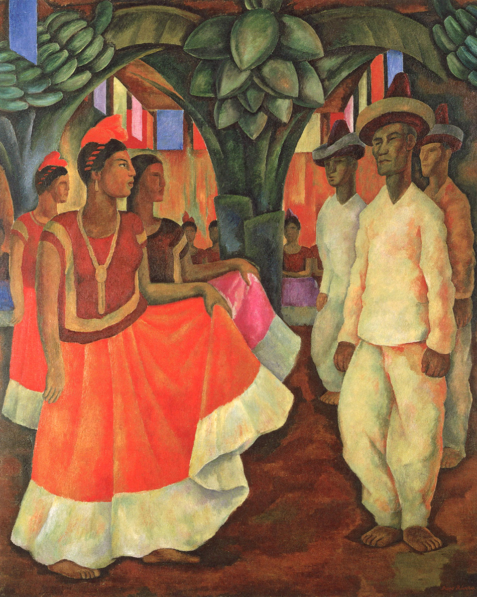 skirball-cultural-center_Diego-Rivera,-Dance-in-Tehauntepec,-1928