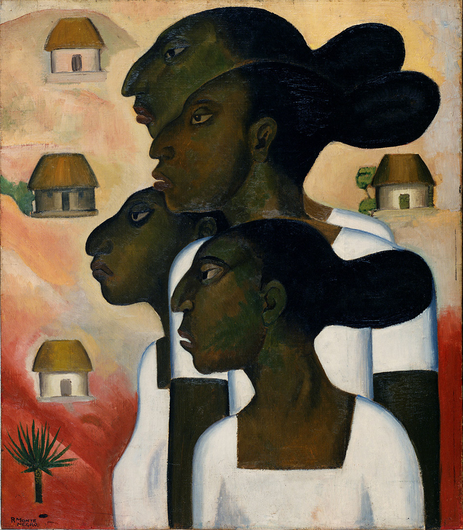 skirball-cultural-center_Roberto-Montenegro,-Maya-Women,-1926